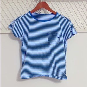 UNITED COLORS OF BENETTON Striped Short Sleeve Tee